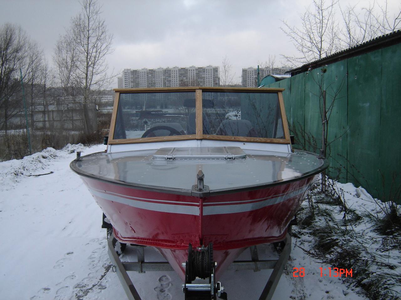 """Тюнинг катера Прогресс - 4 в маломерном флоте ВМК """"Десант-1""""."""