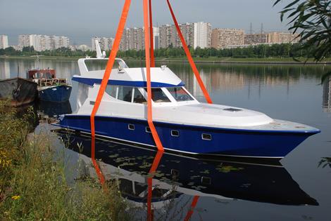 спустить лодку на воду москва